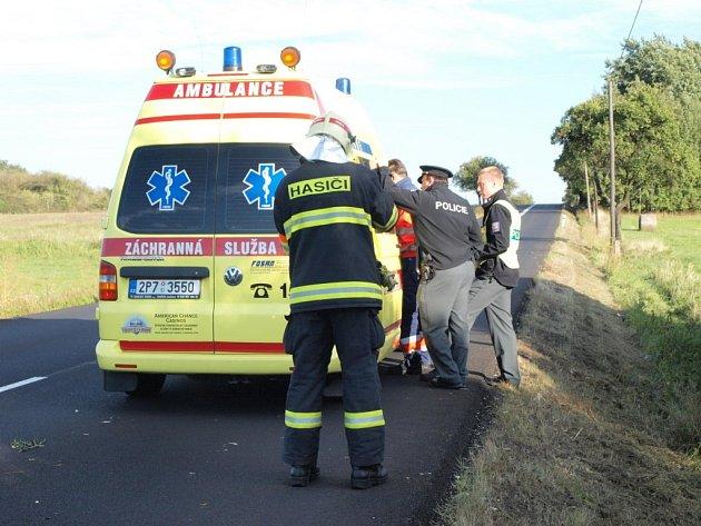 Řidič vyvázl z nehody jen s lehkým zraněním.