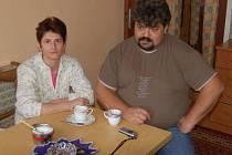 Marii a Zdeňka Nistorových  (na snímku) vyjádření Jaroslava Gašpara  o soužití mezi Romy ve Starém Sedlišti naštvalo.