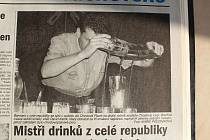 Z archivu Deníku: Soutěž barmanů