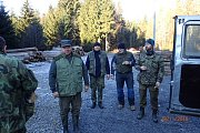 Z brigády v okolí hraničního přechodu Broumov.