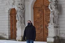 Milan Zoubek je kastelánem v Kladrubech už 21 let.