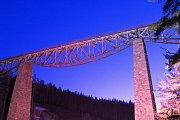 Fotografování Hracholuského viaduktu.
