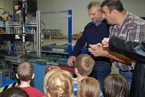 Předškoláci obdivovali roboty