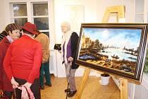 Výstava představuje díla inspirovaná slavnými mistry.