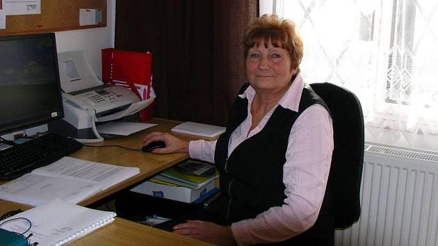 Marie Čadková.