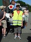 Strážníci Tachovské městské policie navštívili klienty Domova pro osoby se zdravotním postižením v Milířích