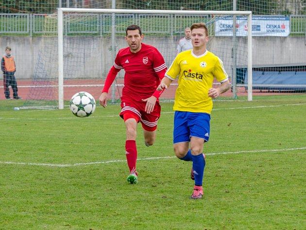 Fotbalisté Tachova přivezli z jižních Čech jeden bod