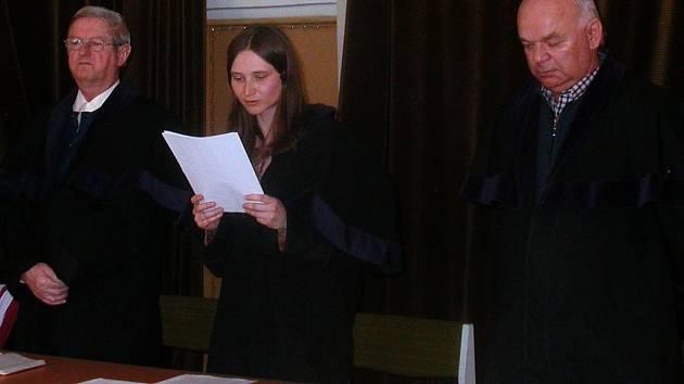 Přísedící soudci jsou lidé, které zvolila obecní či městská zastupitelstva. Přísedícím se může stát kterýkoli občan České republiky starší třiceti let a s čistým trestním rejstříkem.