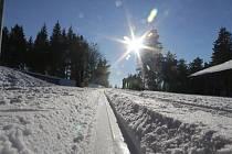 Středisko zimních sportů Silberhütte.