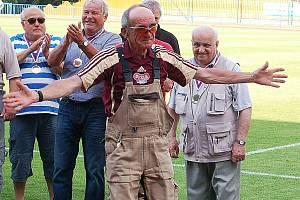 Ku příležitosti oslav postupu FK Tachov do třetí ligy se vzpomínalo.