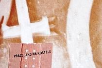 Obal knihy Práce jako na kostele