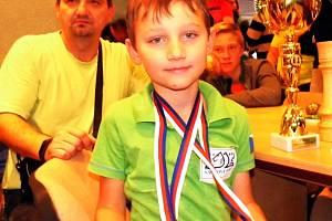 Úspěšný mladý tachovský šachista Jan Váňa.