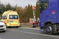 Dopravní nehoda v Chodové Plané.