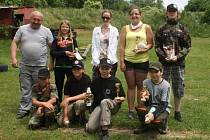 Děti střílely na střelnici U Plynáren obrannou airsoftovou střelbu