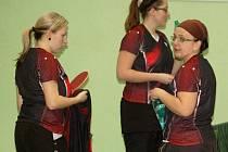 Druhá liga žen ve stolním tenisu měla na programu 17. a 18. kolo.