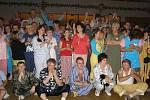Pyžamový ples ve Stříbře.