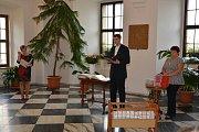 V prostorách stříbrské radnice byli přivítáni noví občánci.