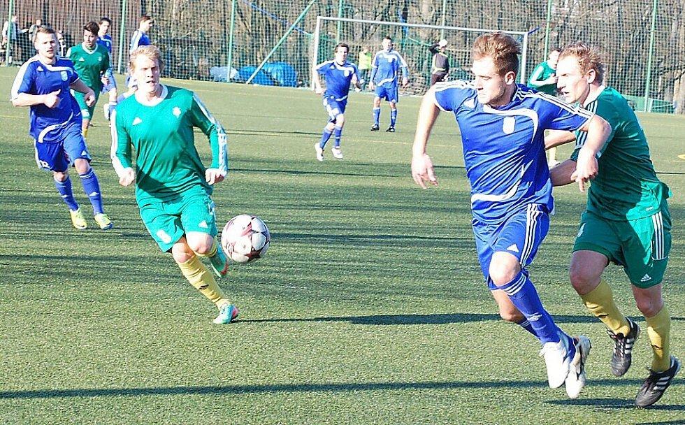 Jarní premiéra v divizi FK Tachov vyšla, porazil 1. FC Karlovy Vary a.s. 4:0
