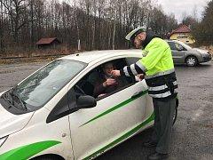 """Policisté na Tachovsku se zapojili do bezpečnostní akce """"Piješ. Řídíš. Zabíjíš."""""""