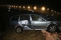 Dopravní nehoda u Nové Hospody.