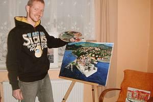 Stříbrský malíř Tomáš Tóth.
