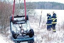 Nehoda u Tisové.