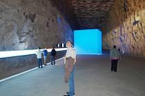 Vytěžené solné komory v důlním muzeu v Heilbronnu působí na návštěvníky impozantně.