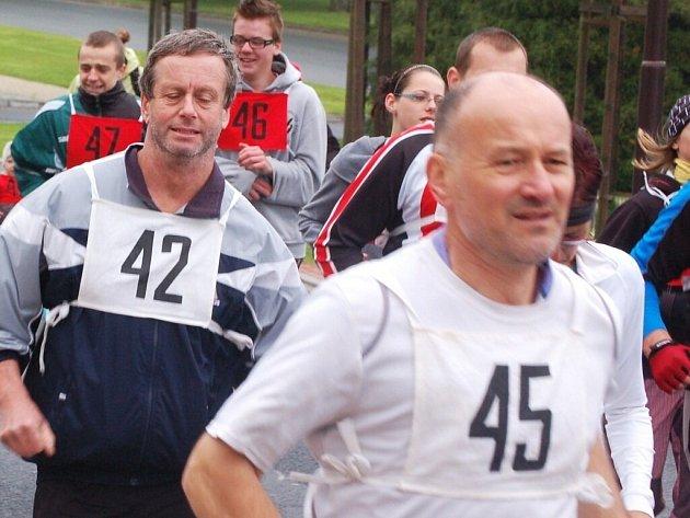 Běžel se jedenáctý ročník krosového závodu ke hradu Přimda.