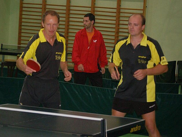 Stolní tenisté Sokolu Bor TeVo Eismann prohráli s druholigovým S. Králův Dvůr B 1:9