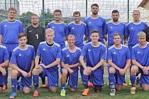 Fotbalisté Studánky A jsou i nadále první v Tanet okresním přeboru. Foto: Archiv týmu Studánka A