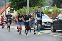 Ivan David (se startovním číslem 54 na trati Běhu na Čerchov) ovládl kategorii mužů nad 50 let v běžeckém seriálu Běžec Chodska 2020.