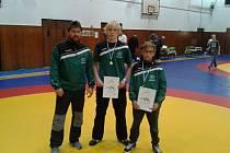 V kategorii žáků Jakub Nikitinský v hmotnosti do 46 kg obsadil třetí místo a v hmotnosti do 85 kg byl Bohuslav Pírka zlatý.