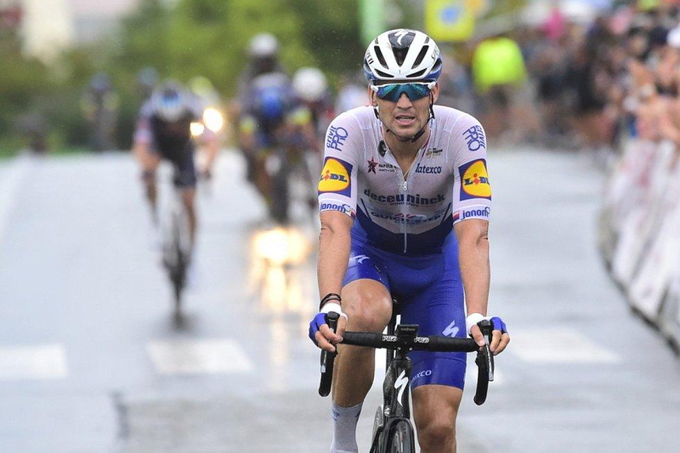 Český cyklista Zdeněk Štybar
