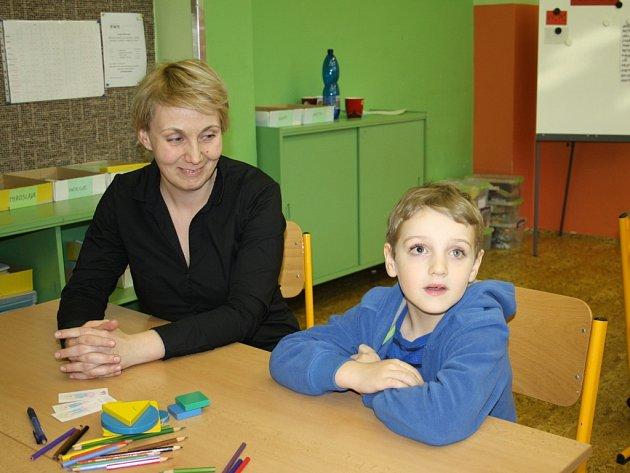 Ze zápisu do první třídy v ZŠ Zárečná v Tachově.