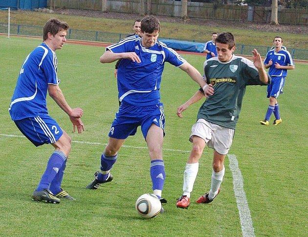 Divize: Domácí tým nevstřelil na jaře ještě branku a v sobotu prohrál s Malše Roudné 0:1