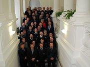 Policisté převzali na zámku medaile za dlouholetou službu