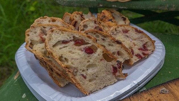 Chlebomáslové slavnosti vzaniklé obci Záhoří přilákaly také letos desítky poutníků, kteří zde mohli ochutnat nejrůznější druhy domácího chleba a pomazánek.