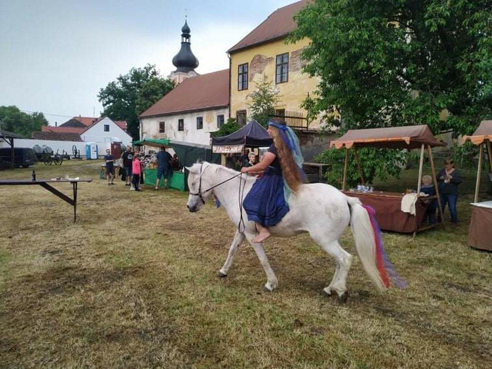 Oslava Slunovratu v Kladrubech.