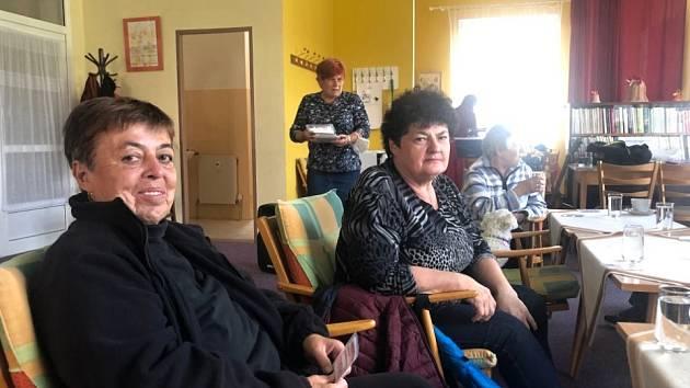 Milé setkání členů Svazu tělesně postižených ve Stříbře.