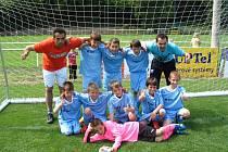 Fotbalový výběr hráčů ročníku 2005 Okresního fotbalového svazu Tachov, který tvořili hráči FK Tachov a B. Stříbro pod vedením Petra Tolara a Karla Tůši, vyhrál silně obsazený turnaj v Rokycanech.