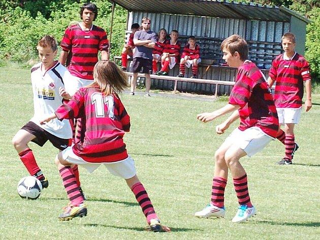 Fotbal, starší žáci: Stráž – Planá 4:0