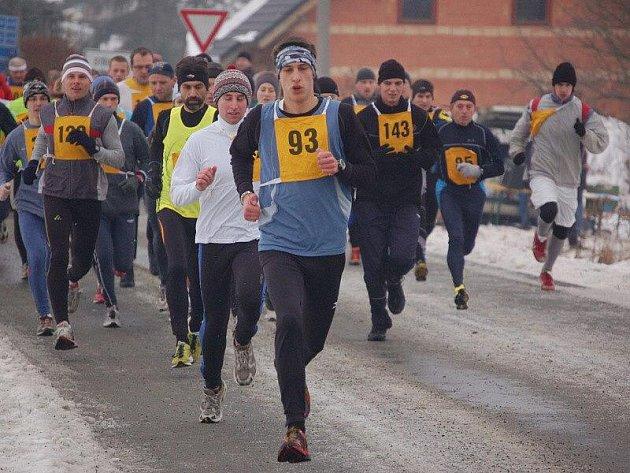 Běžel se 27. ročník Vánoční míle
