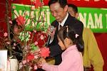 Vietnamci oslavili příchod nového roku.