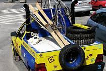 Vozidlo s netradičním nákladem