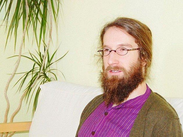 David Klaus z občanského sdružení Kotec.