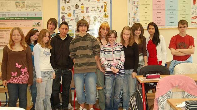 Devátá třída ZŠ Černošín