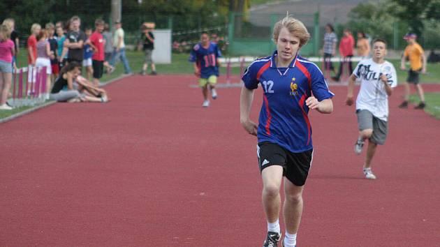 Školáci měřili své sportovní síly