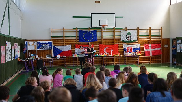 Žáci ze Základní školy v Přimdě si užili týden se svými kolegy z ciziny.