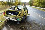 Záchranné složky od dopoledních hodin zasahují u dopravní nehody osobního vozidla a kamionu. Silnice je zcela uzavřena.