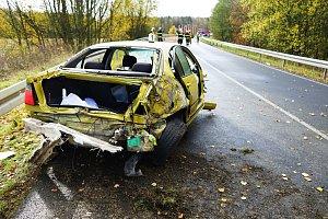 Dopravní nehoda mezi Planou a Tachovem